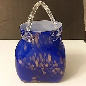 Morano Glass Purse